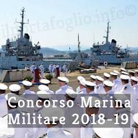 concorso marina militare 2018/19