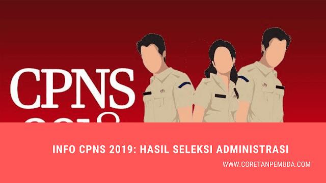 Cek Daftar Peserta Lolos Seleksi Administrasi CPNS 2019 Semua Instansi