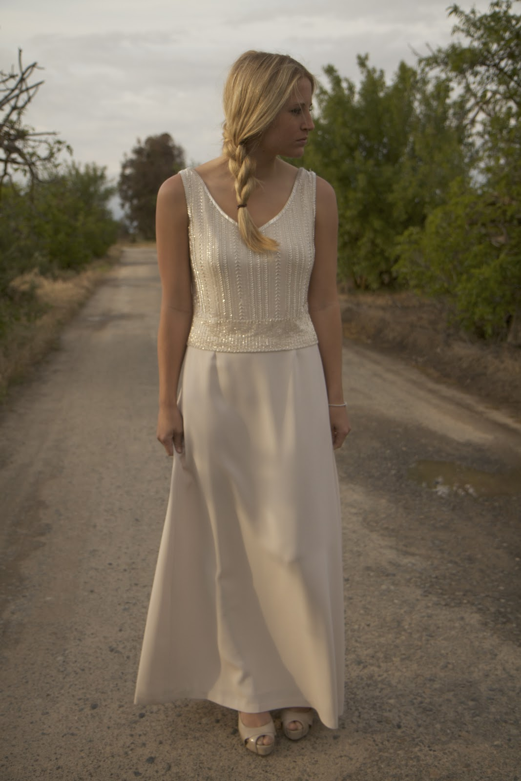 Champagne Amp Sequins Vintage Bohemian Hippie Wedding Dresses From Daughters Of Simone