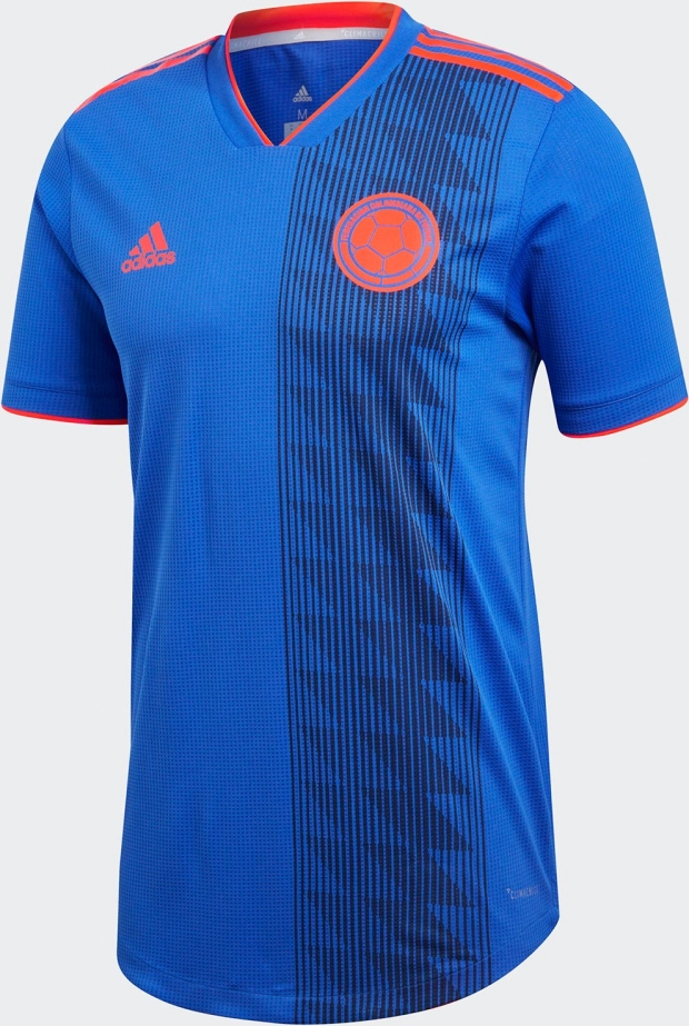 Adidas lança a camisa reserva da Colômbia para a Copa do Mundo ... bf29d1fb2a970