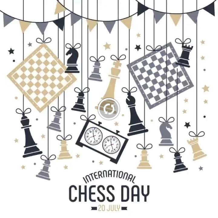 Le 20 juillet c'est la journée internationale des échecs