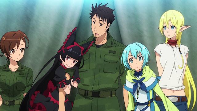 Gate: Jieitai Kanochi nite, Kaku Tatakaeri, II sezon