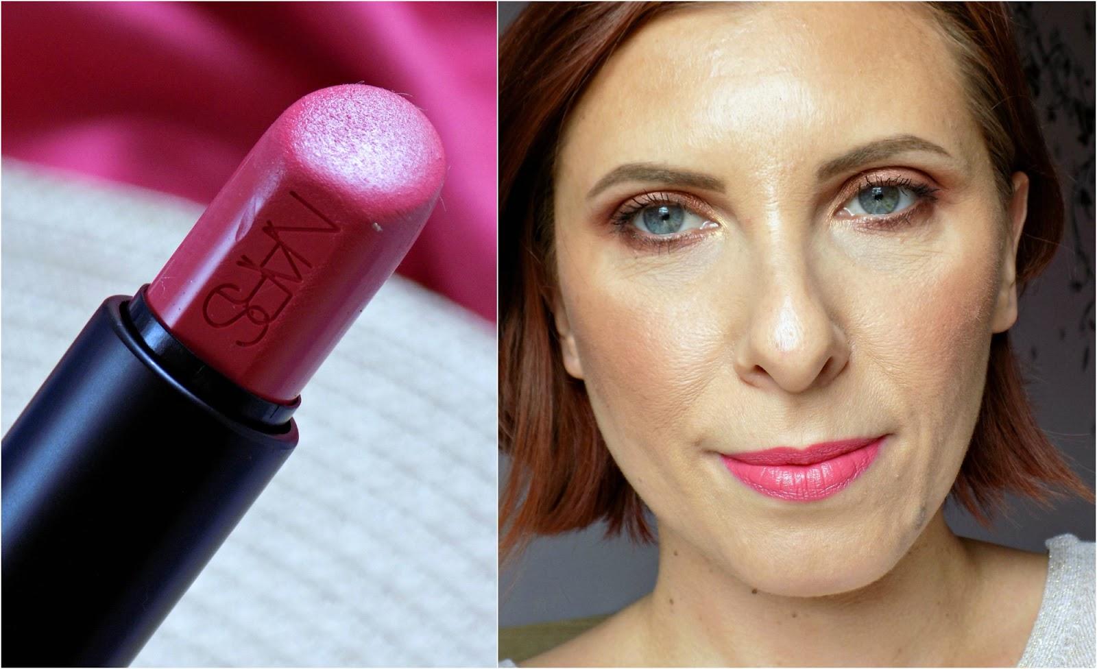 NARS Audacious Lipstick in Natalie