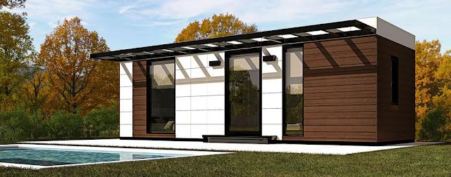 Módulo de jardín de Resan - Modelo bungalow