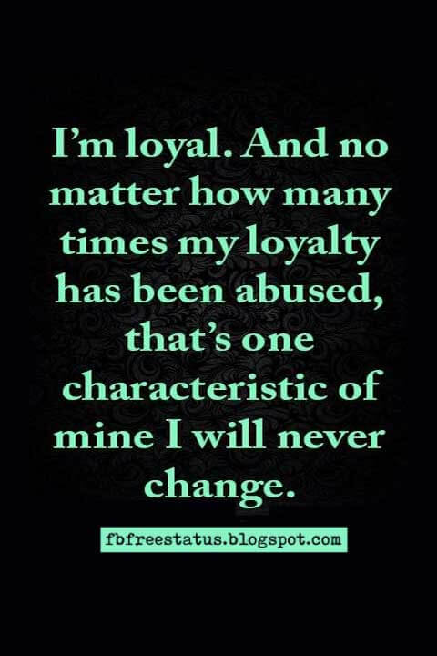 quotes about loyalty images