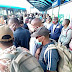 Day 1 of Easing the lockdown in Lagos: No Social Distancing This Morning at Ikorodu BRT Terminal (Pictures)