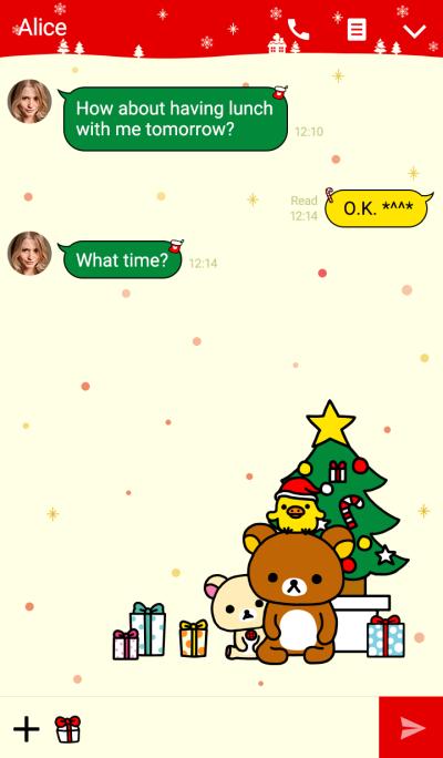 Rilakkuma: 크리스마스