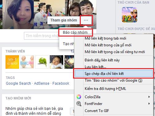 Lấy các loại ID của Facebook: Profile, Fanpage, Group, Bài viết, Hình ảnh