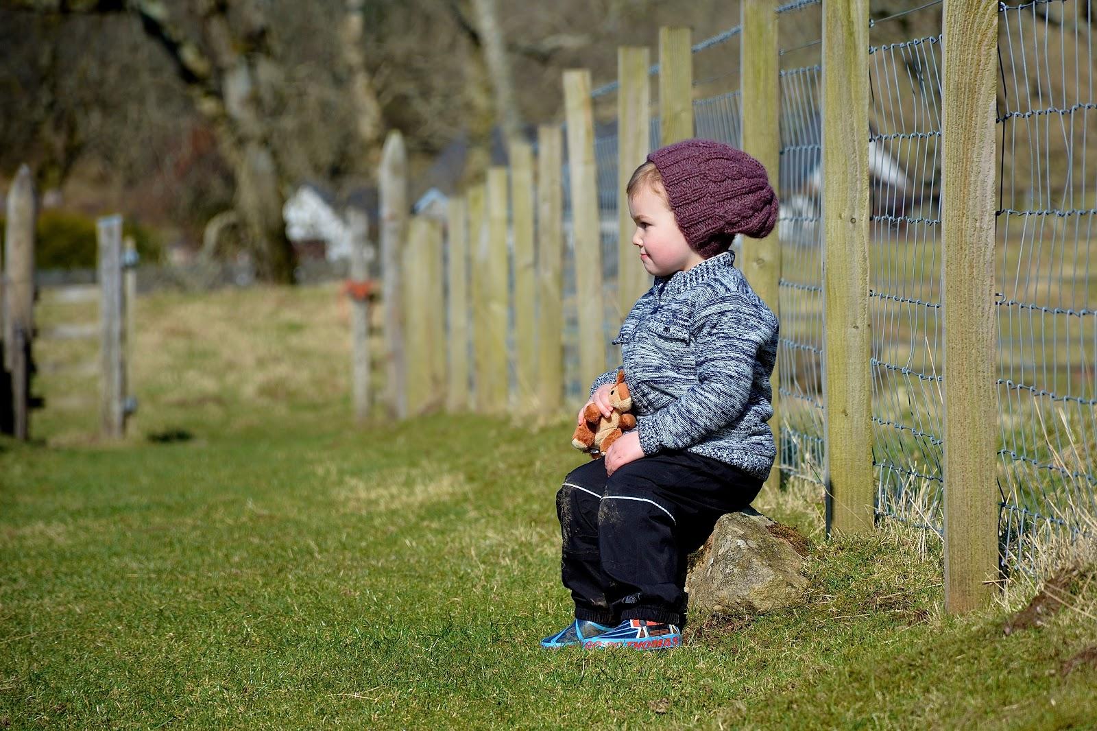 Resting in Kilmartin Glen