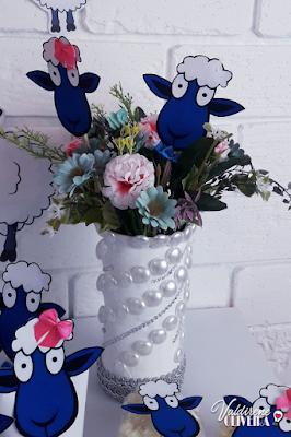 arranjo para decoração de ovelha