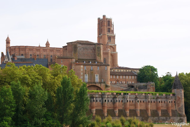 Vista Panoramica della Cattedrale di Santa Cecilia di Albi
