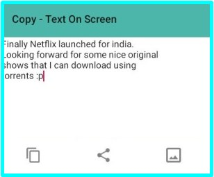 how to copy and paste on facebook app for android