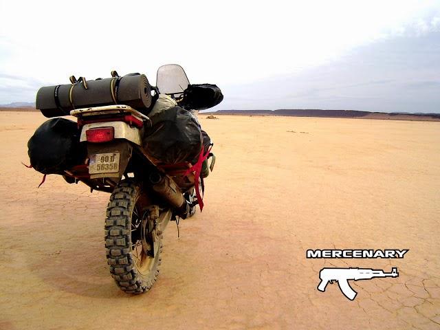 Mercenary Garage Africa Twin Luggage System