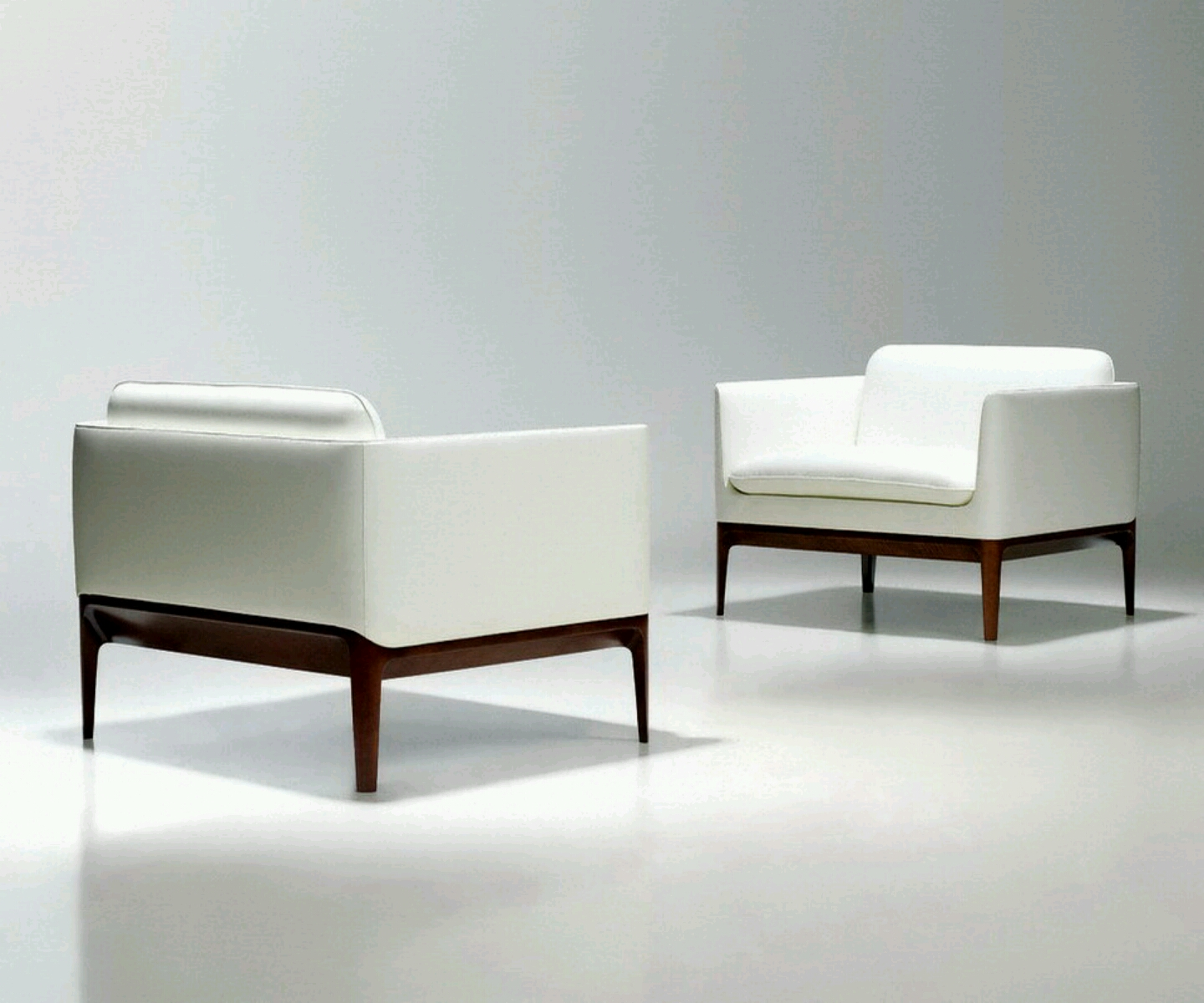 Contemporary Designer Furniture: Modern Beautiful White Sofa Designs.