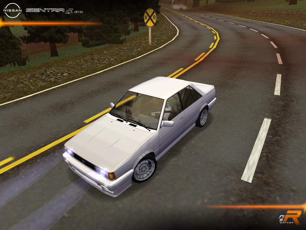 1986 Nissan Sentra .R-VE (B12)