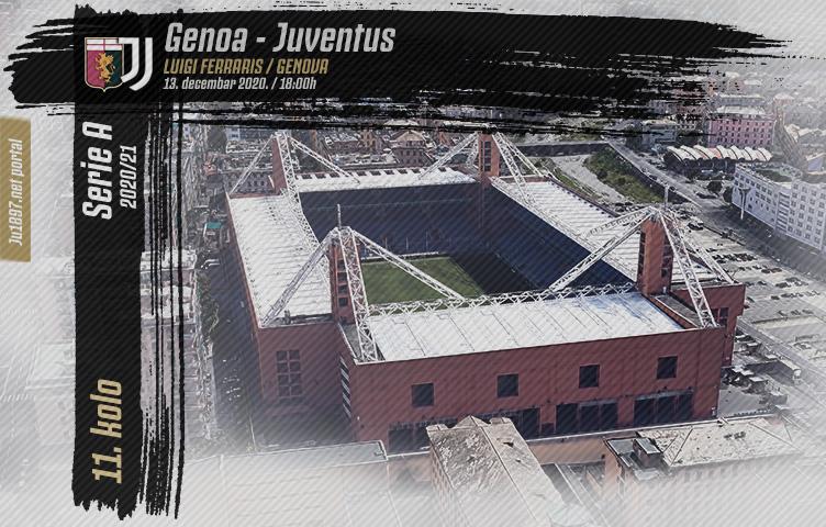 Serie A 2020/21 / 11. kolo / Genoa - Juventus, nedelja, 18:00h