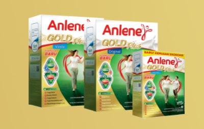 Anlene Actifit 3x untuk usia dewasa