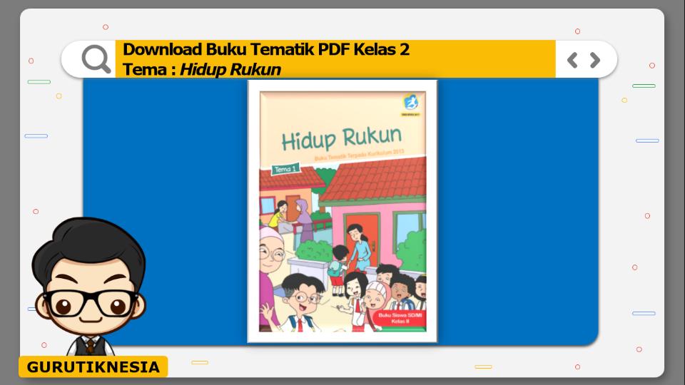 download buku tematik pdf kelas 2 tema hidup rukun