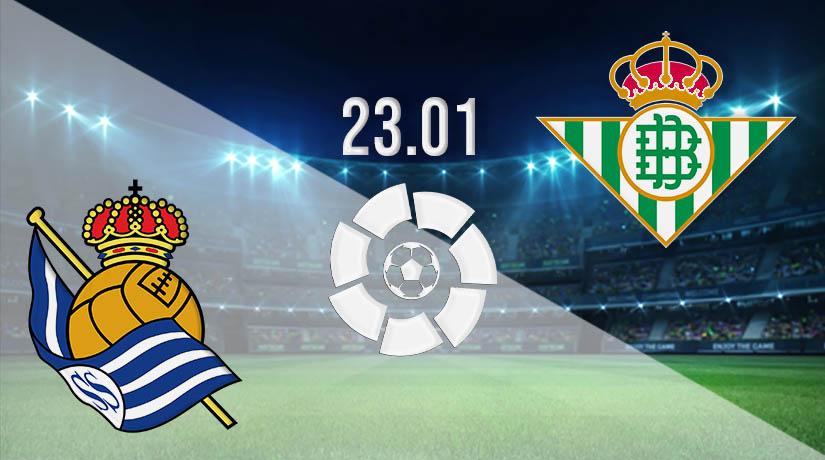 بث مباشر مباراة ريال سوسيداد وريال بيتيس