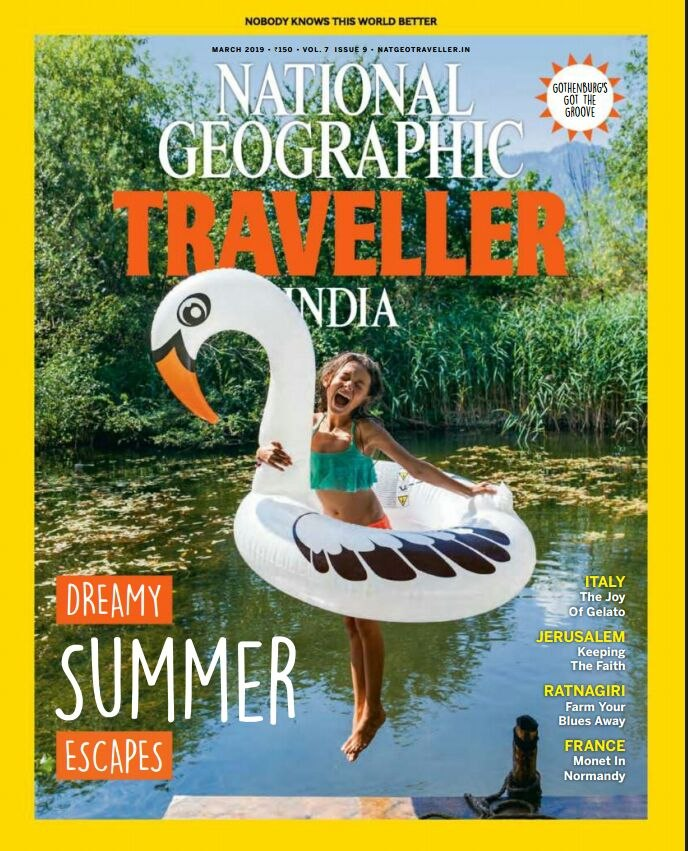 National Geographic Traveller India March 2019 PDF Download