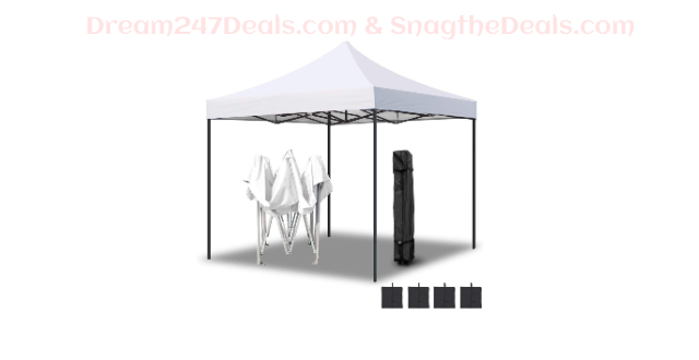 Shelter Canopy with Wheeled Carry Bag 45% OFF