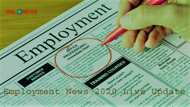 Employment News 2020 Live Update | Recruitment in Many States | Know Where You Can Apply