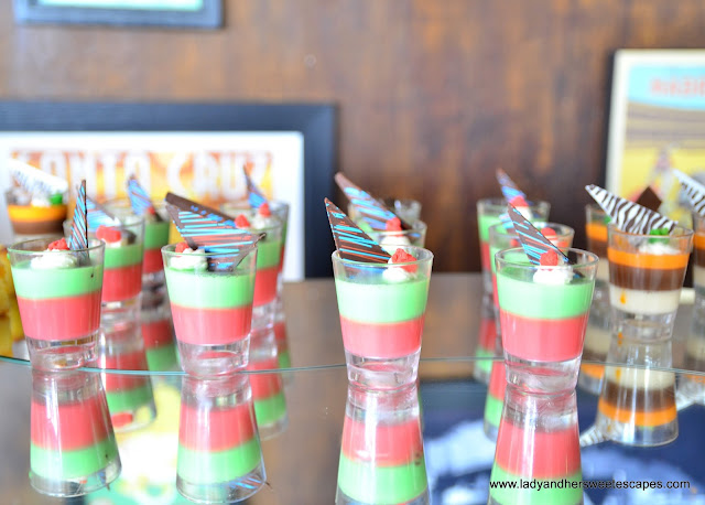 desserts at Casa de Tapas