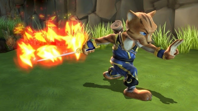 تسجيل لعبة Legend of Kay Anniversary على جهاز Nintendo Switch
