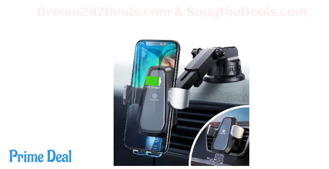 Wireless Car Charger 70% OFF
