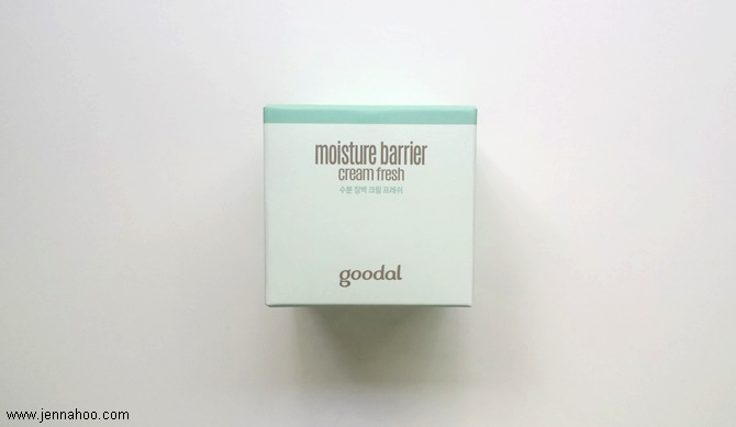 goodal moisture barrier cream fresh