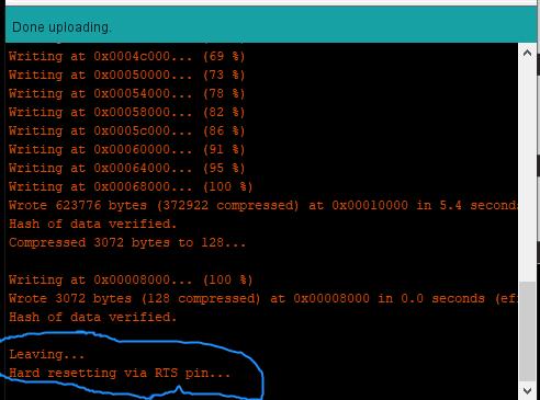 Cara Menggunakan ESP32 di Arduino IDE - Compiling dan Uploading