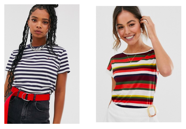 Casual Striped Tops