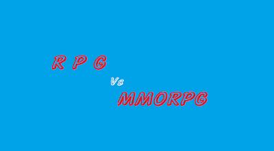 Perbedaan RPG dan MMORPG