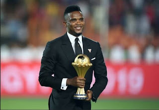 'I will give my life to continue to serve you'- Samuel Eto'o commences donation of COVID-19 relief materials to 100,000 Cameroonians