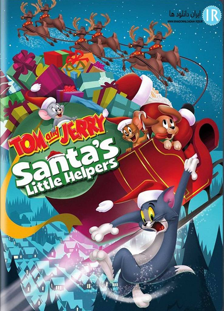 Desene Online In Engleza Tom and Jerry Santa's Little Helpers