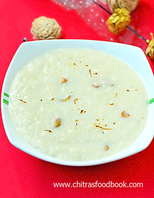Instant pot rice kheer