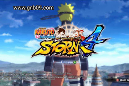 Naruto Senki Mod Ultimate Ninja Storm 4 v2 Apk by Alwan Hanif