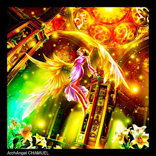 Archangel CHAMUEL, Yellow Ray