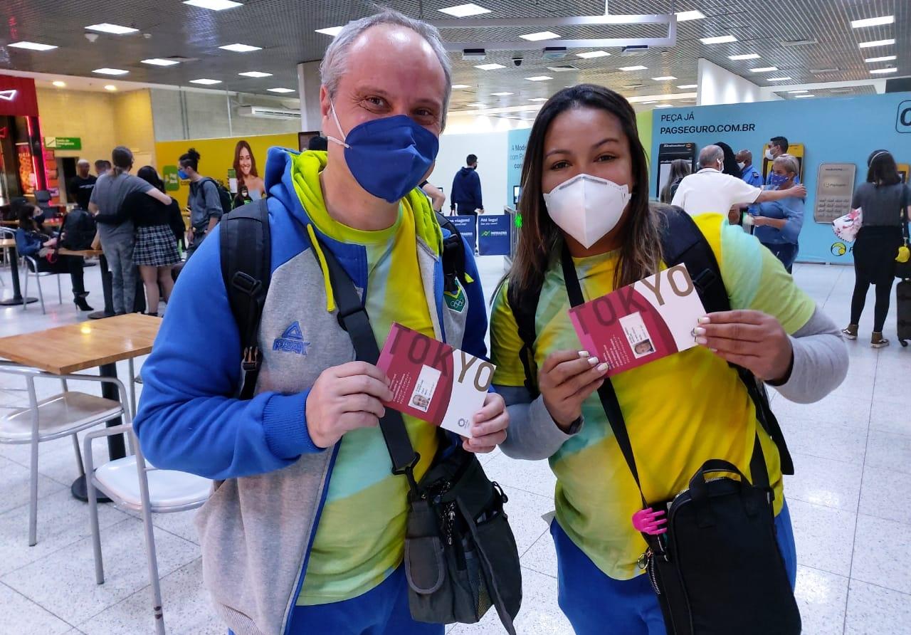 Brasileira do levantamento de peso Olimpíadas