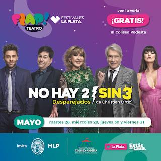 A partir de mañana, FLAP! presenta dos obras de teatro gratuitas en el Coliseo Podestá