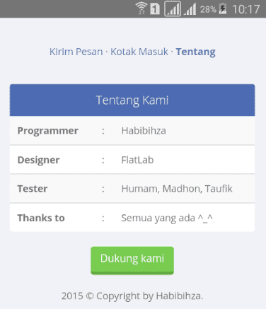 Aplikasi SMS Gratis Android All Operator Work 100%