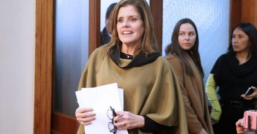 La Presidenta del Consejo de Ministros, Mercedes Aráoz se presentará mañana a las 09:00 horas en el Congreso para voto de confianza
