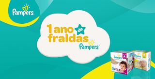 Promoção Concorra 1 Ano de Fralda Pampers Para o Seu Bebê!