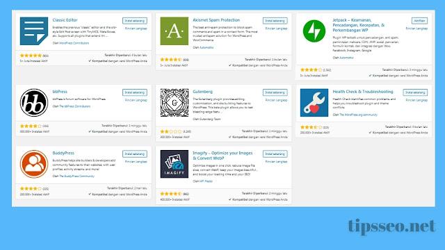 Apa Itu Plugin WordPress dan Fungsinya