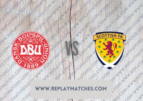 Denmark vs Scotland -Highlights 01 September 2021