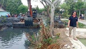 Normalisasi Kali Bongsang Dulgani di Dua Kecamatan, Diduga Proyek Siluman