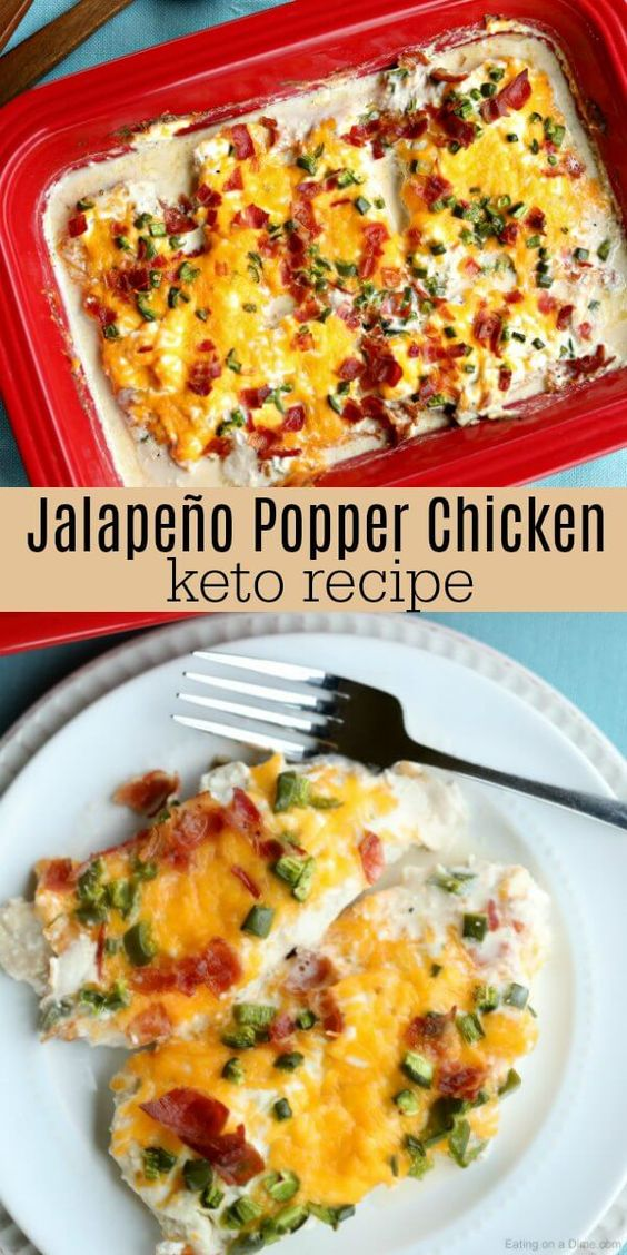 KETO JALAPEÑO POPPER CHICKEN RECIPE #recipes #dinnerrecipes #quickdinnerrecipes #deliciousdinnerrecipes #quickanddeliciousdinnerrecipes #food #foodporn #healthy #yummy #instafood #foodie #delicious #dinner #breakfast #dessert #lunch #vegan #cake #eatclean #homemade #diet #healthyfood #cleaneating #foodstagram