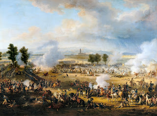 A scene from the Battle of Marengo, a significant victory for the French in the War of the Second Coalition
