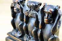 sevgi, susamışlık, kör, sağır, dilsiz, lal, üç maymun,