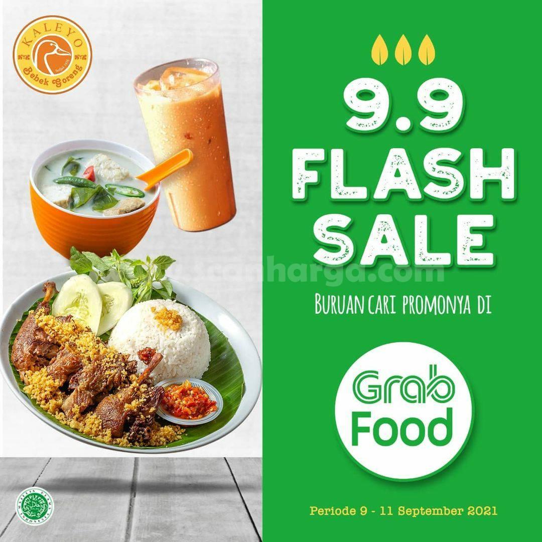BEBEK KALEYO Promo GRABFOOD FLASH SALE 9.9 DISKON 50%